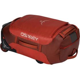 Osprey Rolling Transporter 40 Duffel Bag Ruffian Red